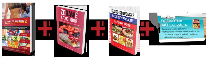 Kniha Z fitka do kuchyne s bonusm aj narodnymi specialitami do objednavky